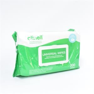 AHP2816 CLINELLUNIVERSALSANITISINGWIPES200
