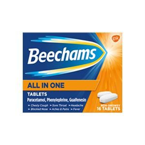 BEECHAMS ALL-IN-ONE TABS 16 - 2881316