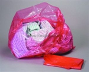 AHP3587- RED DISSOLVABLE LAUNDRY BAG 200