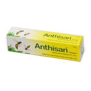 Anthisan Cream 2% 25g