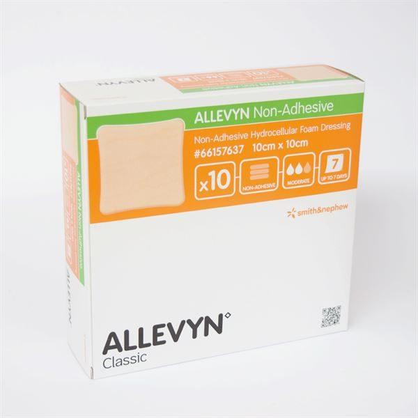 ALLEVYN NON-ADH WND DRESS 10X10CM  2070811