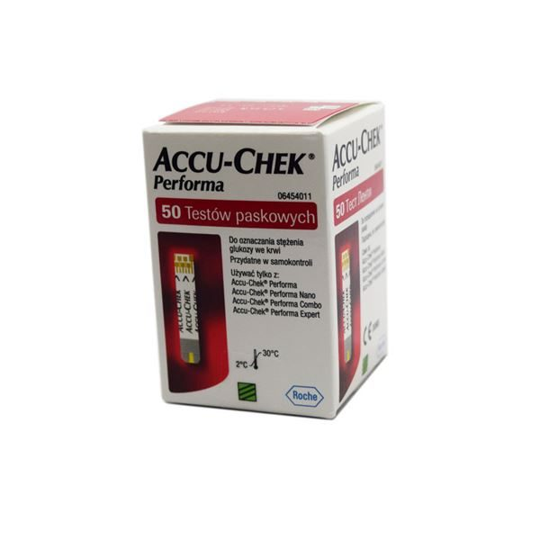 Accu-chek performa test strips 3981214