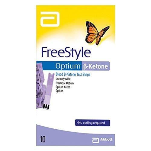 FREESTYLE OPTIUM BETA KETONE TEST STRIPS 10 - 3237773