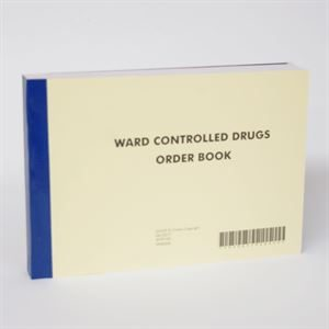 WARD CONTROLLED DRUGS ORDER BOOK A5 AHP3794