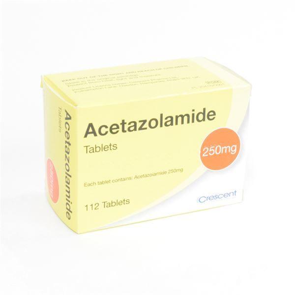 1085411000001100 Acetazolamide 250MG Tabs
