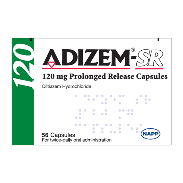 ADIZEM SR CAPS 120MG 56 - 0909804 edit