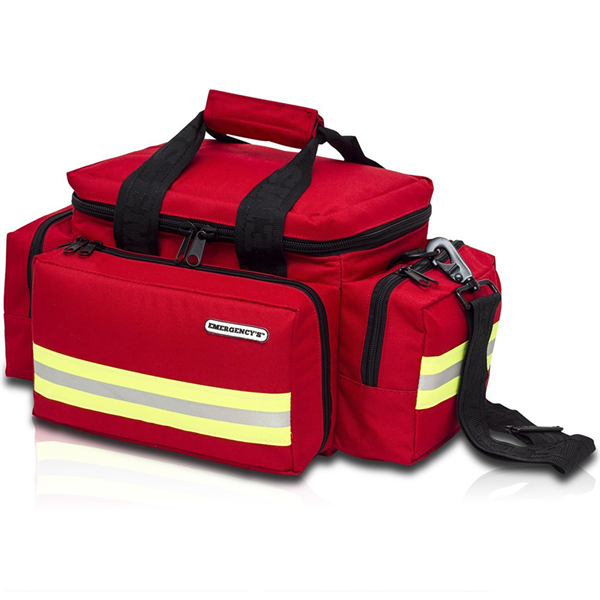 Red Medical Bag Small 44x25x27cm Unkitted  - 1