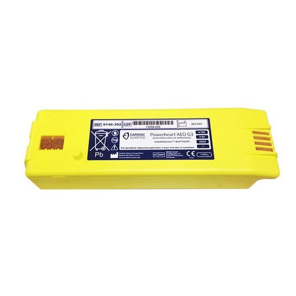 BATTERY FOR POWERHEART AED G3 (NON-RECHRG) - AHP2721