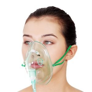 Oxygen masks and tubing