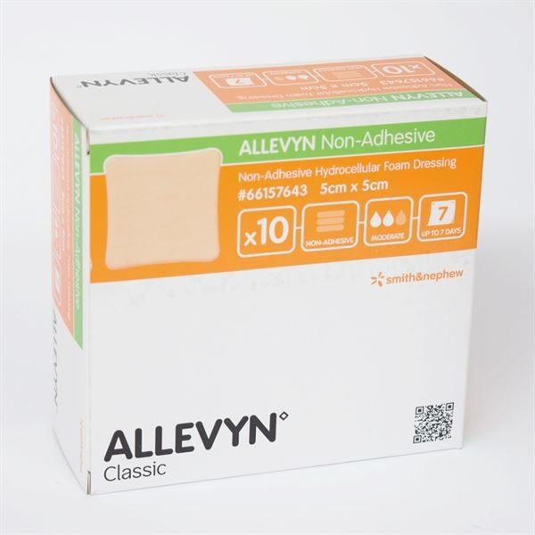 ALLEVYN NON-ADHESIVE Wound Dressing 5x5cm - 10pk 2070787