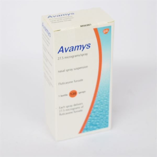 AVAMYS NASAL SPRAY 3438587