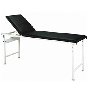 ENFIELD Fixed Height Examination Couch Black top - 1