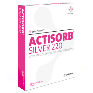 ACTISORB SILVER 9.5X6