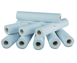 COUCH ROLLS SINGLE 20 BLUE - AHP0158