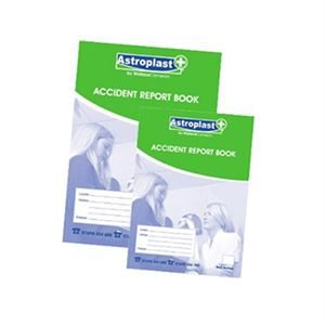 Accident Report Book A5 - AHP5185