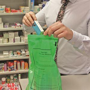 pod bag green