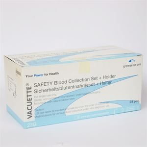 Vacuette 450161 Safety Blood Collection Set - 24pk AHP5288