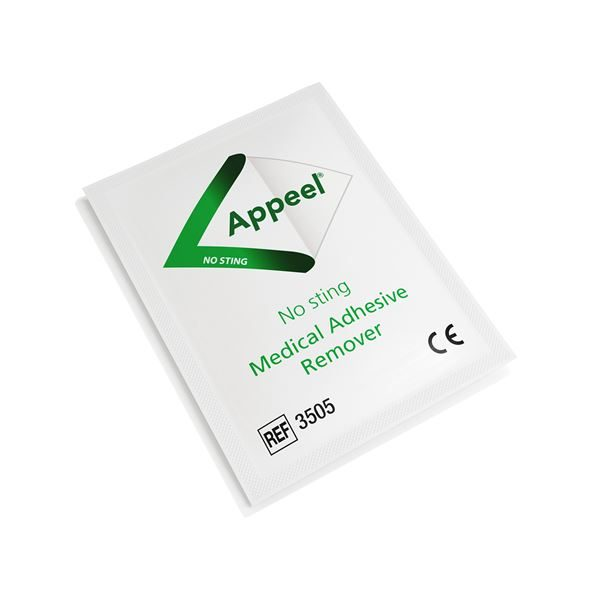 APPEEL NO STING MED ADHESIVE REMOVER WIPES 30 - 3116571