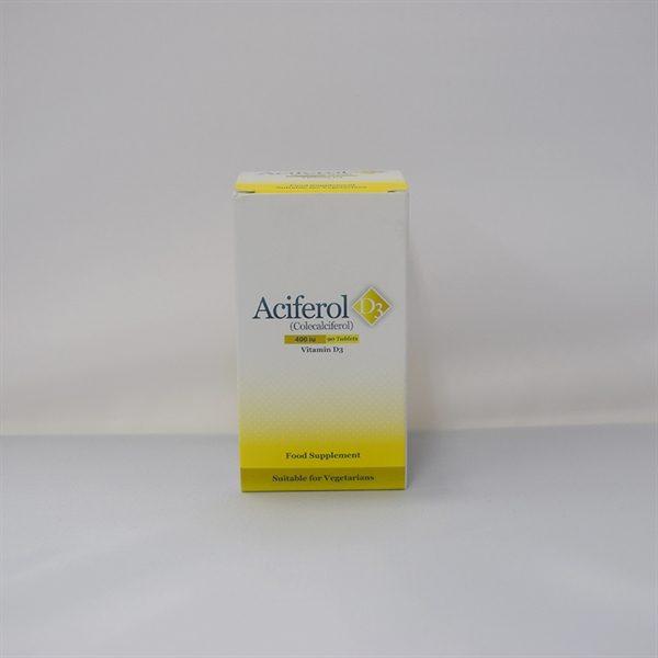 3722121-Aciferol D3 Supplements Tabs 400iu-90pk